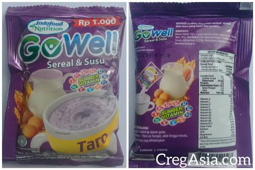 Gowell Sereal & Susu