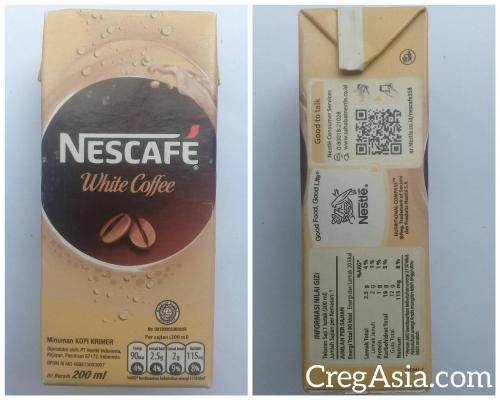 Nescafe White Coffe